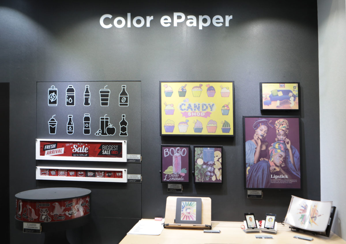 E Ink 元太科技 Touch Taiwan 2019 展示前瞻與創新電子紙技術